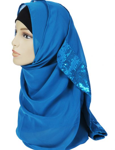 Sequin Georgette Hijab