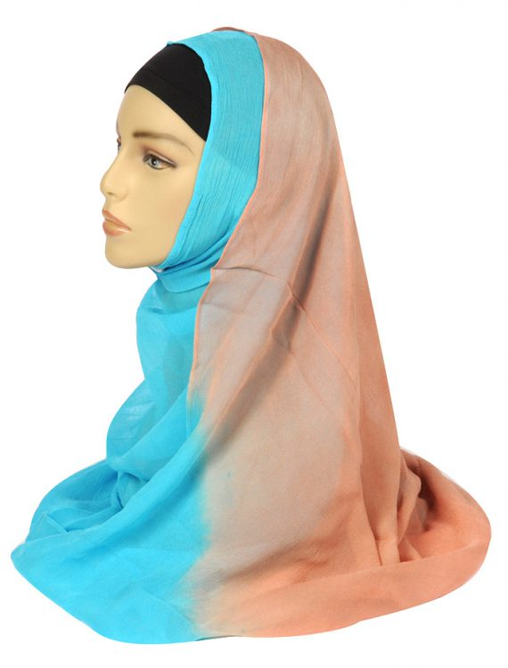 Tye Dye Chiffon Hijab
