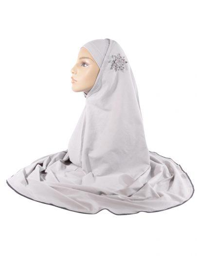 2 Piece Grey Al-Amirah Hijab