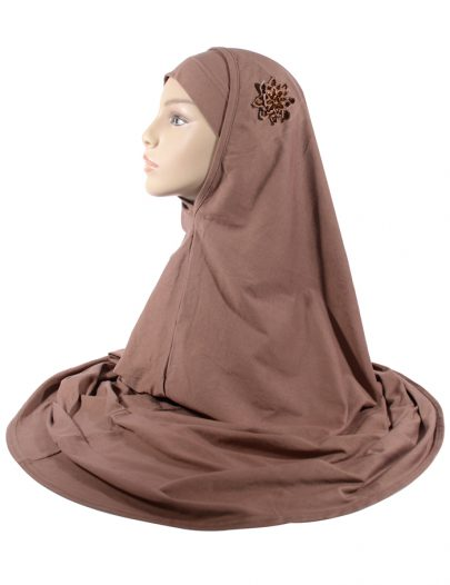 Brown 2 Piece Hijab