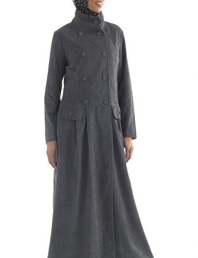 Grey Corduroy Jacket Black
