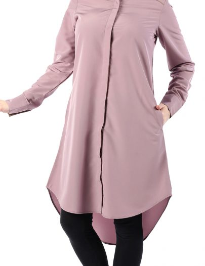Shirt Dress Tunic Sea Fog