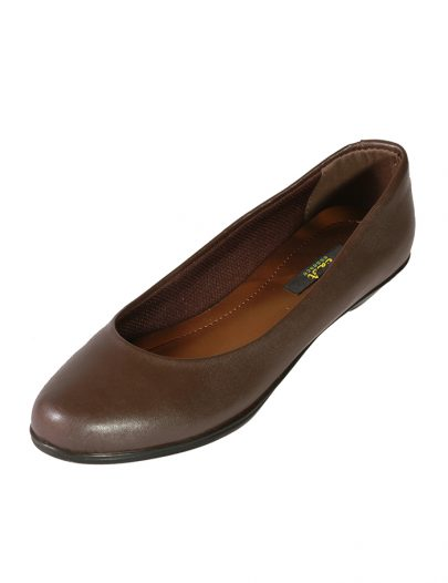 Classic Patent Brown Flats