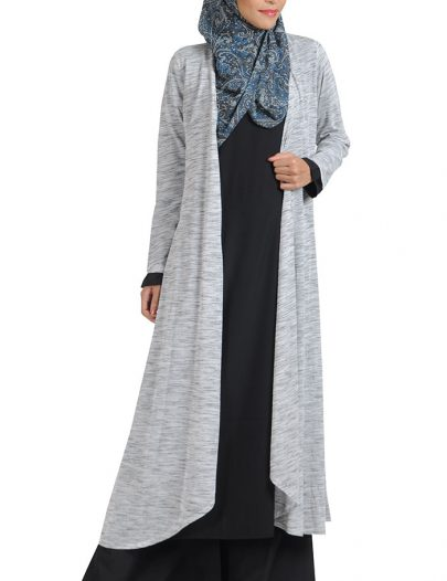 Melange Grey Shrug Grey