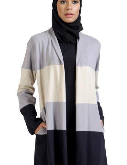 Triple Toned Textured Cardigan