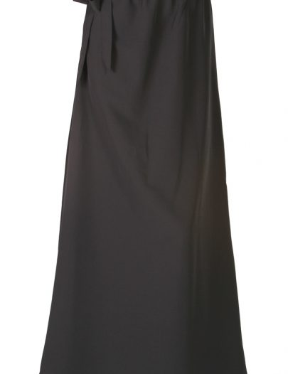 Black Band Waist Skirt