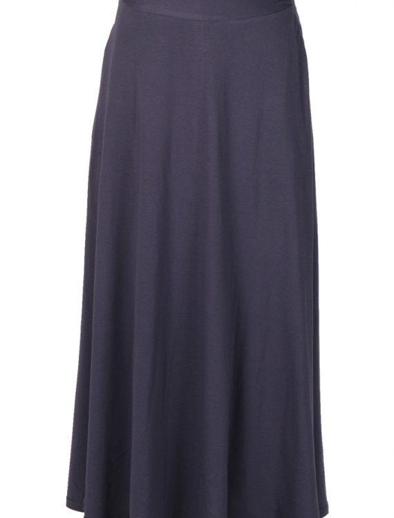 Cotton Everyday Comfort Skirt Black