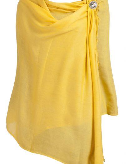Winter Shawls Yellow