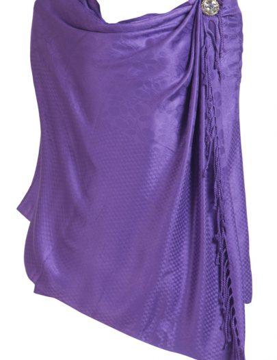 Winter Shawls Purple