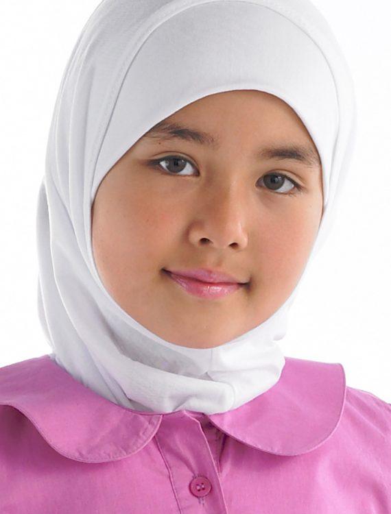 2 Piece Al-Amira Hijab White