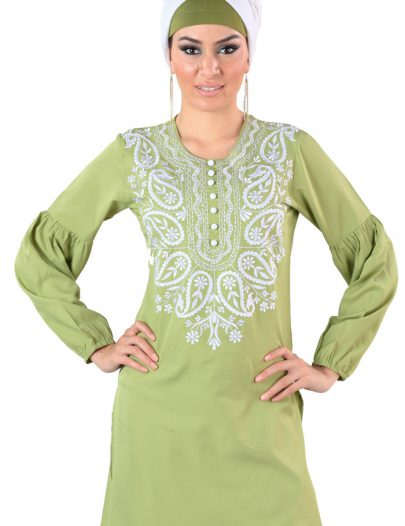 Abia Tunic Kurti Light Green
