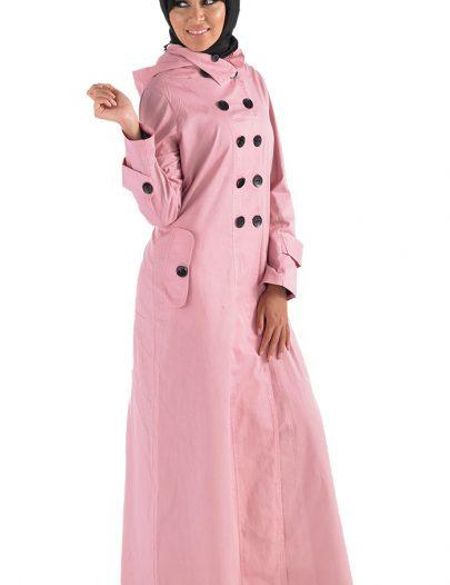 Alisa Jacket Jilbab Black