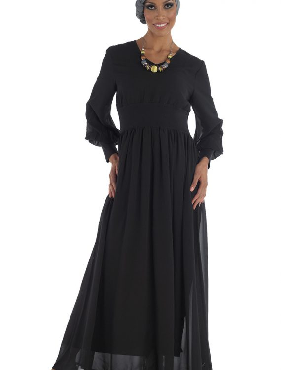 Alishba Abaya Black