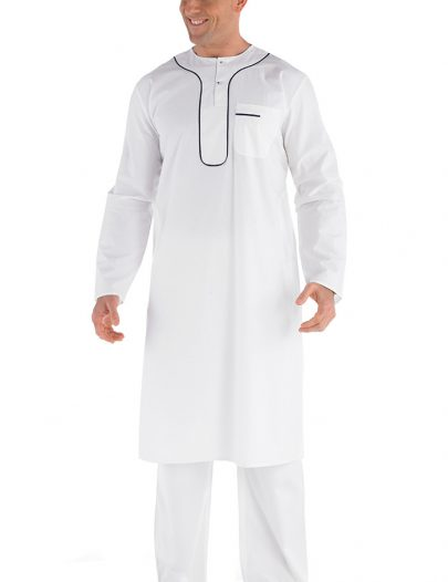 Arbaaz Men's Kurta Set Black