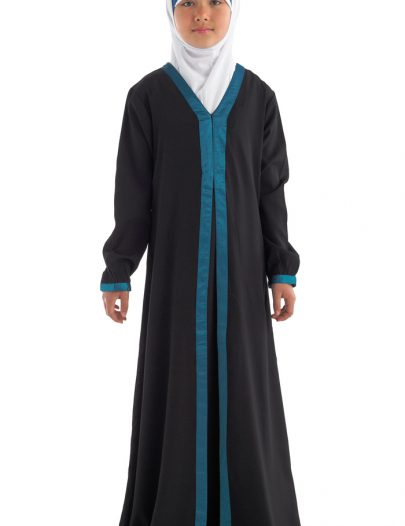 Ayah Girls Abaya Black
