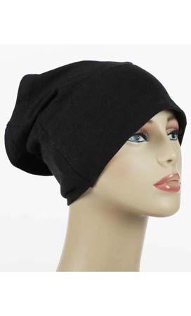 Black Underscarf Hijab Cap
