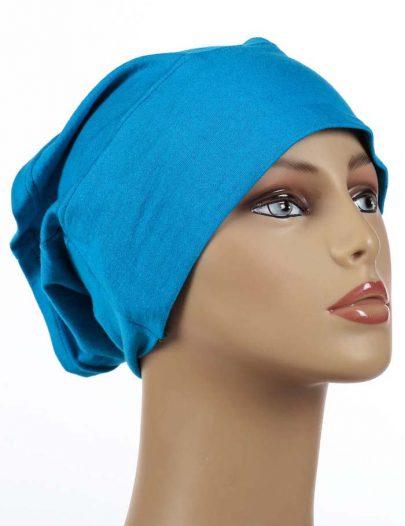 Blue Underscarf Hijab Cap