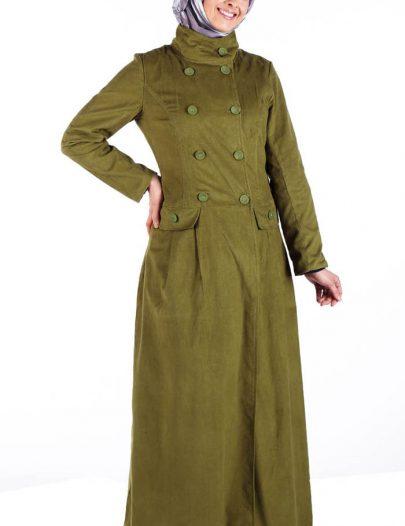 Corduroy Casual Jacket Olive