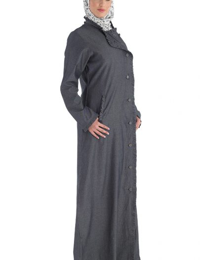 Hajj Arub Abaya Blue