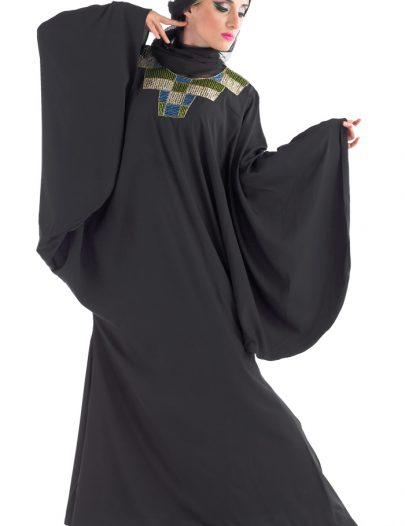 Jameel Abaya Black