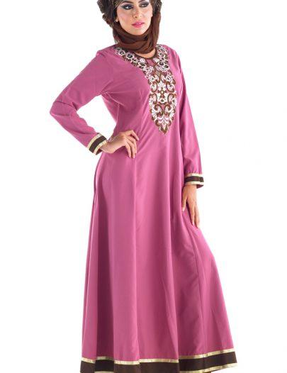 Janiyah Abaya Rose Pink - Out Of Stock