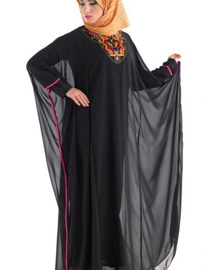 Kibriya Abaya Black