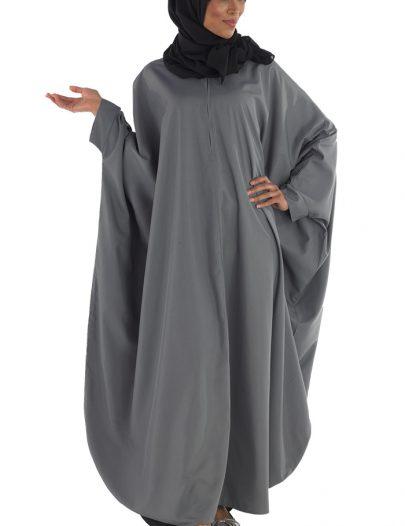 Kimono Kaftan Abaya Dark Grey