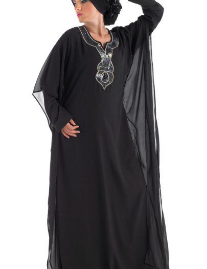Peri Abaya Black