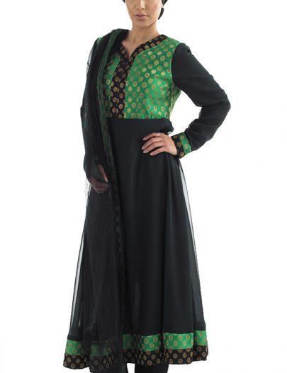 Sulafah Salwar Kameez Black