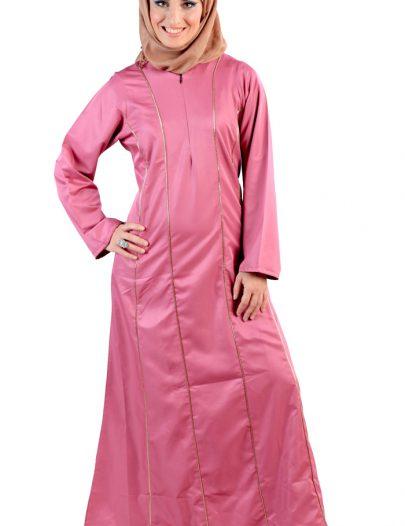 Walidah Maternity Abaya Rose Pink