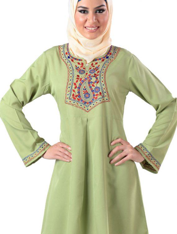 Zaraf Kurti Light Green