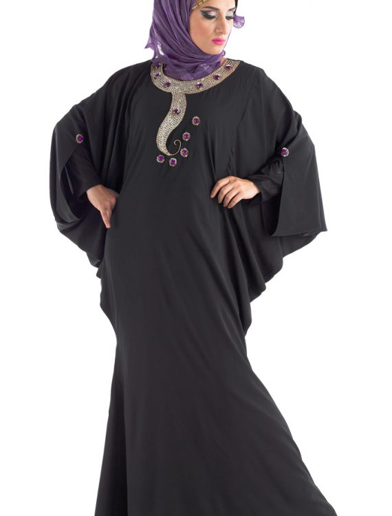 Zoya Dubai Abaya Black